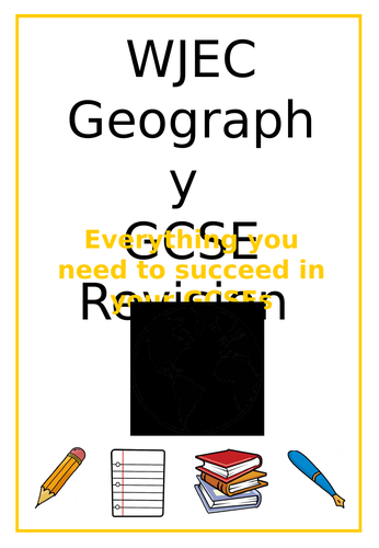 WJEC Geography Revision Booklet