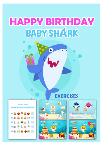 Baby Shark Song - Activities