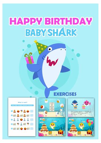 Baby Shark Song - Activities