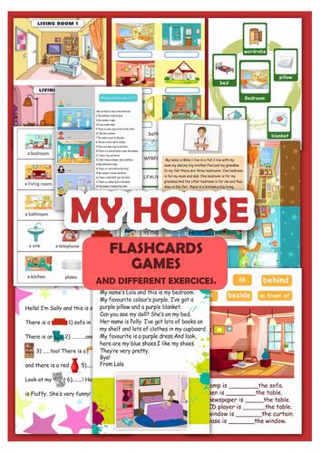 My house - activities