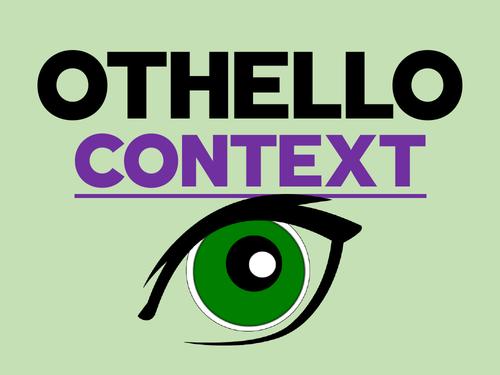 Othello: Context