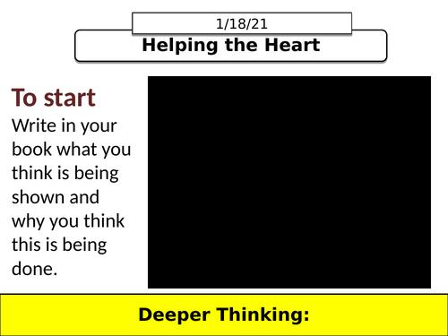 AQA GCSE B4.4 Helping the Heart (NEW SPEC)