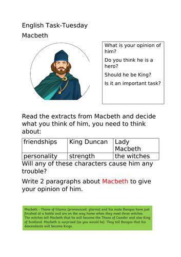 Macbeth KS2