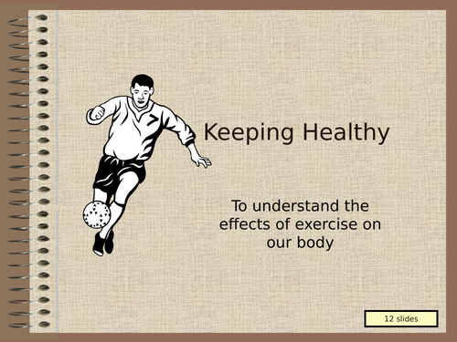 Health and Exercise - POWERPOINT