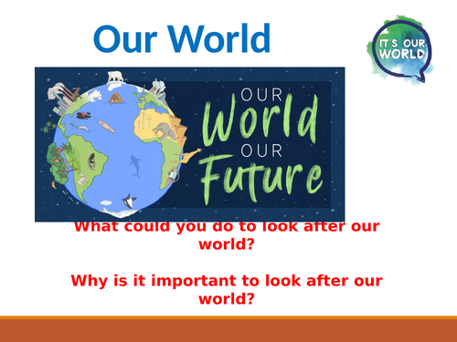 Our World Assembly - Primary