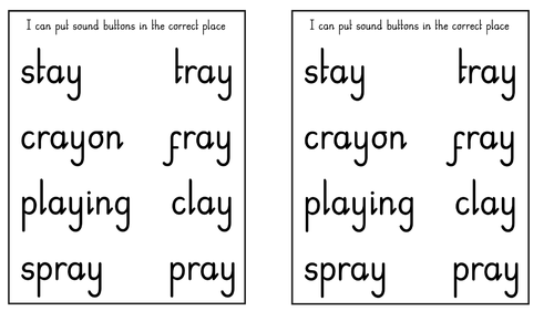 Phase 4/5 combined Phonics