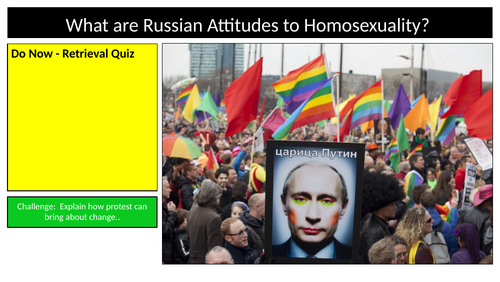 Russia Homosexuality