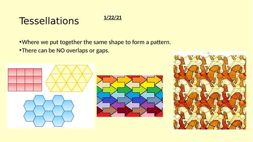 Tessellation Full Lesson