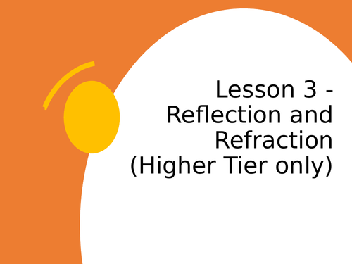 AQA GCSE Physics (9-1) - P12.3 Reflection and refraction FULL LESSON