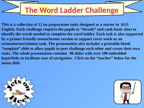 The Word Ladder Challenge