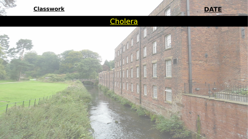 Remote Learning: Industrial Revolution Cholera