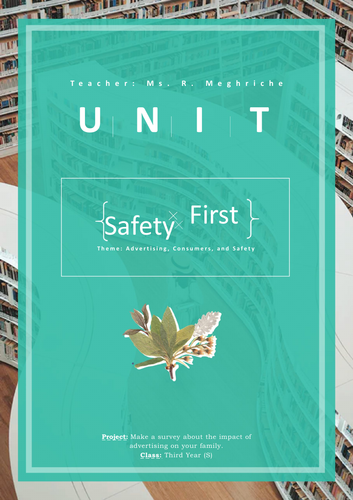 Unit: Safety First