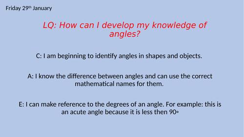 KS2 - Angles