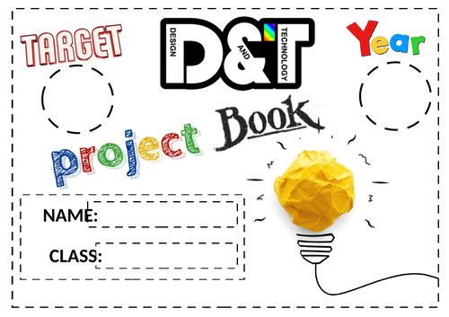 Blank DT booklet
