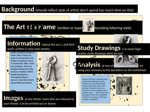 GCSE Artist Research Guide