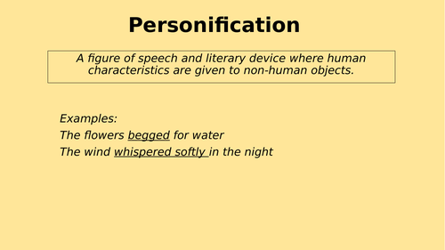 SPAG - Personification