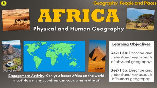 Africa: Physical and Human Geography (People and Places)