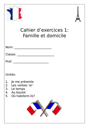 French booklets KS3