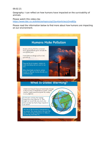 Environmental dangers and the survivability of animals