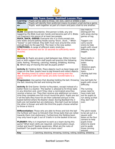 SEN Team Game: Bashball