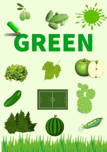 Colour Poster: Green