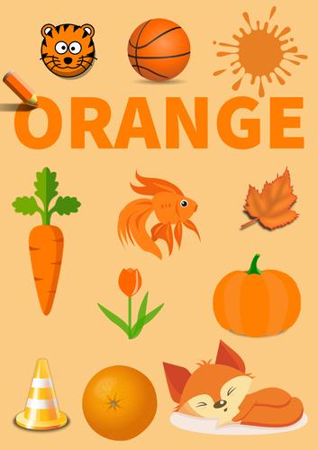 Colour Poster: Orange