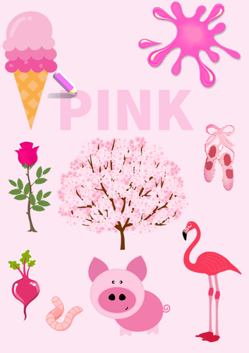 Colour Poster: Pink
