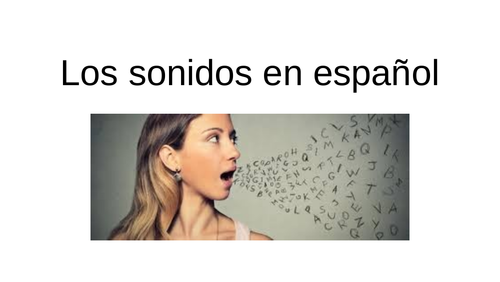 Sounds in Spanish