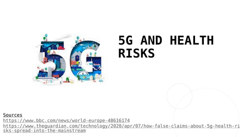 5G and your health