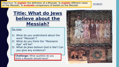 Judaism - The Messiah