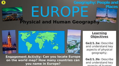 Europe: Physical and Human Geography (People and Places)