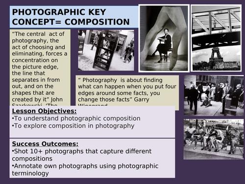 Photography key element Composition