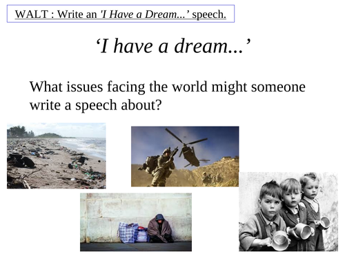 Martin Luther King Speech Writing
