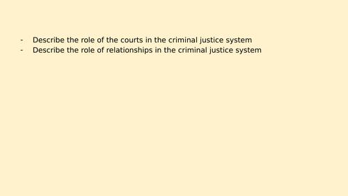 Eduqas / WJEC Criminology unit 4 whole unit