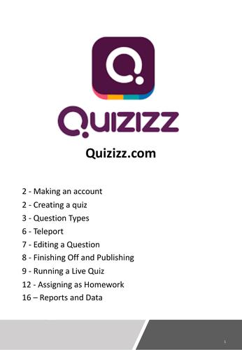 Quizizz Guide