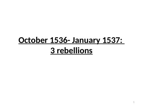 1536 rebellions