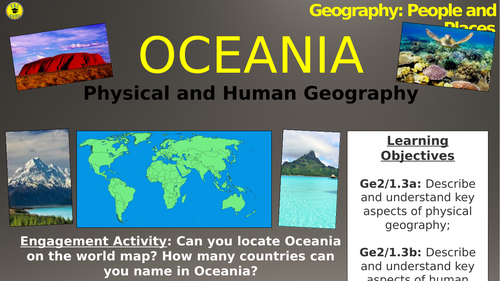 Oceania: Physical and Human Geography (People and Places)