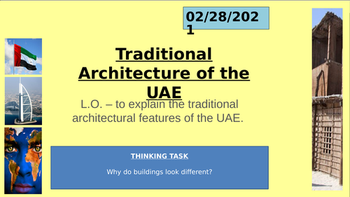 UAE Social Studies - Traditional Architecture - Al Ain Palace