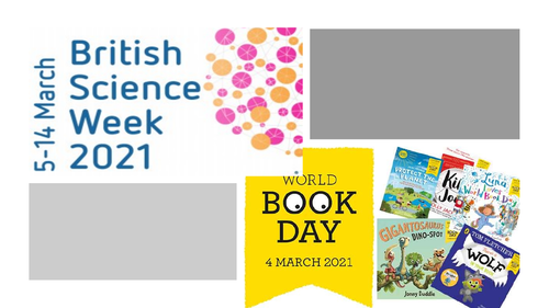 World Book Day AND Science Week Careers and Literacy Resource