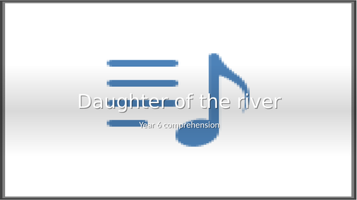 The rivers daughter