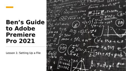 Guide to Adobe Premiere Pro 2021