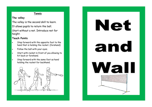 Net and Wall Resource Card