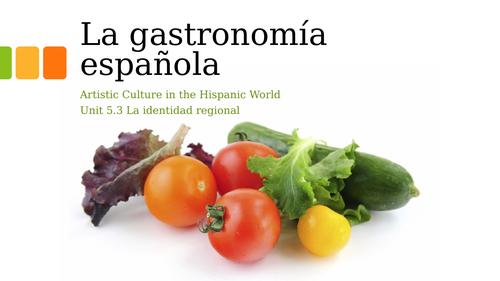 La Gastronomía Española