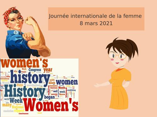 International Women's Day French