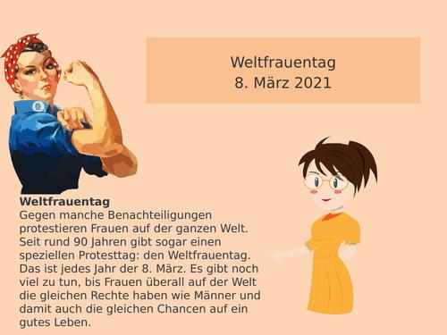 International Women's Day German