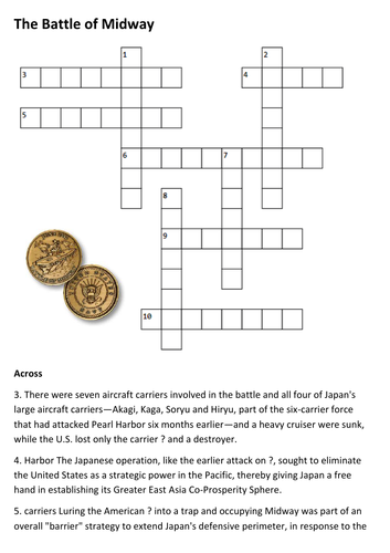 The Battle of Midway Crossword