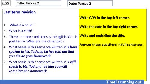 Tenses- Grammar