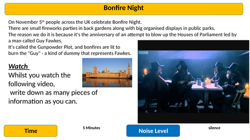 Bonfire Night Poetry