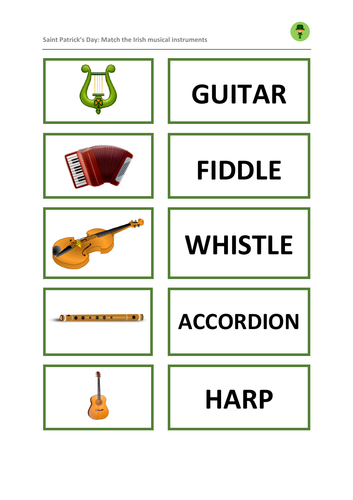 Saint Patrick's Day: Musical Instruments