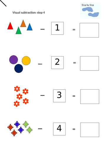 Visual subtraction Step 4